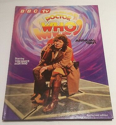 Bbc tv  DOCTOR WHO Annual 1981