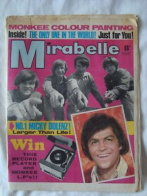 Mirabelle Comic (1967) (The Monkees, Micky Dolenz)