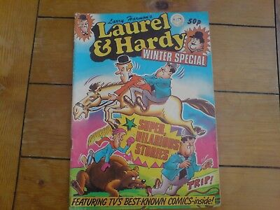 Collectable Larry Harmon's Laurel & Hardy Comic Winter Special