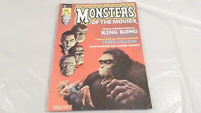 Curtis Stan Lee Monsters of the Movies June 1974 No 1 Back Issue Magazine
