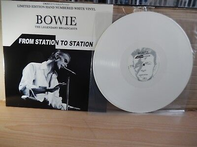 David Bowie - From Station To Station (Coda) Hand Numbered White Vinyl LP