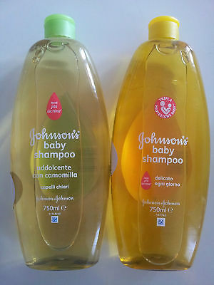 "Johnson's Baby Shampoo ""NO MORE TEARS"", 1 x 750 ml, GRÜN (Kamille)"
