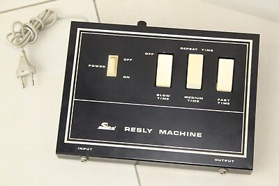 Shin-Ei Resly Machine Vintage RARE effects