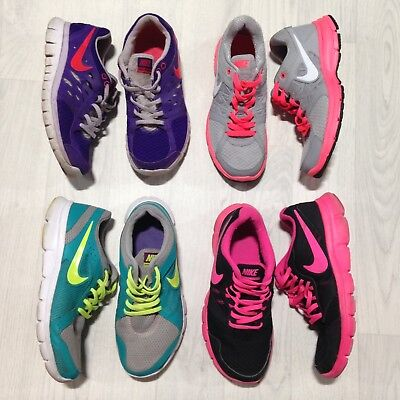 Nike Womens Running Trainers size 5 Bundle Joblot Wholesale Shoes 38.5 4 Pairs