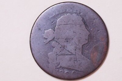 1800 Draped Bust Large Cent Love Token