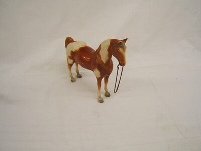 Vintage Hartland Brown and White Standing Horse Free Shipping