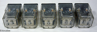 5 Potter Brumfield KRPA-11A-240 Relays