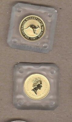 1997 Australian Nugget $15 Gold Coin - 1/10 Oz .9999