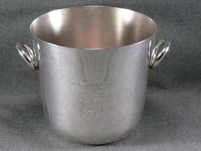 Christofle Silverplate Ice Champagne Bucket Vertigo $710