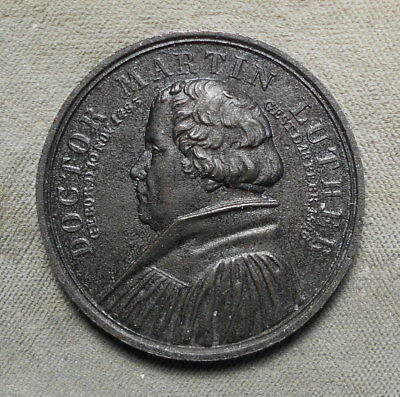 Doctor Martin Luther Wittenberg Germany October 1821 Dedication Iron