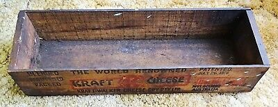 Vintage Craft Walker Wood Chese Box Nice Collectable