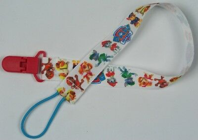 Extra long pacifier clip Paw Patrol