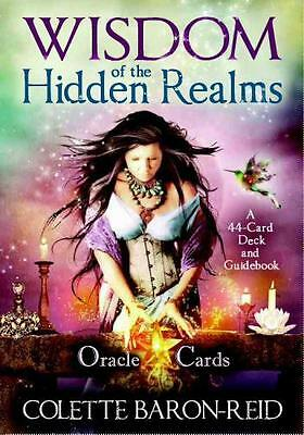 Wisdom of the Hidden Realms Oracle Cards (Cards), Baron-Reid, Col...