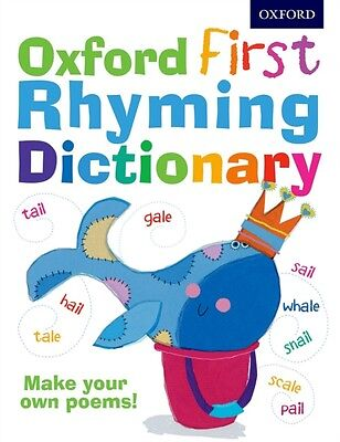 Oxford First Rhyming Dictionary (Children's Dictionary) (Paperbac. 9780192735591