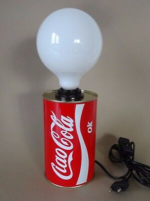 Kultige Tischlampe Lampe Ciao Cola, Gadget Design Italy