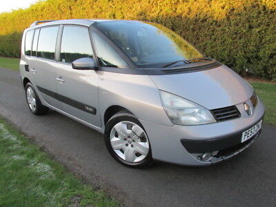 2003/53 Renault Espace 1.9 Expression DCI 7 SEATS  PE53 ZNJ - SPARES OR REPAIR!