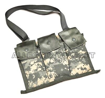 Lot of 100 US Military 6 Magazine Bandoleer Pouch, MOLLE ACU Mag Pouch VGC