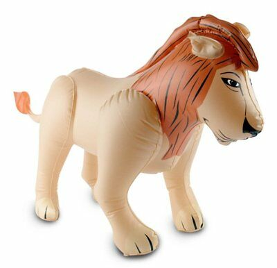 Inflatable Lion 48x80cm Animal Pool Party Fancy Dress Accessory Decoration Favor