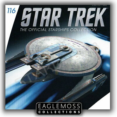 Star Trek Eaglemoss 116 Uss Curry Raumschiff Sammlung Starship Collection