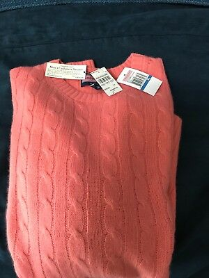 vineyard vines cashmere new with tags great color Bermuda pink