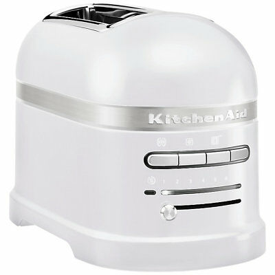 NEW KitchenAid Artisan 2-Slice Toaster, Frosted Pearl
