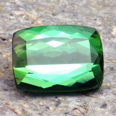 UNHEATED TOURMALINE-BRAZIL 2.90Ct FLAWLESS-NEON GREEN BLUE CLR-FOR TOP JEWELRY