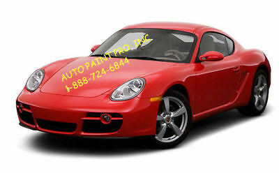 Porsche red/guards 027 acrylic enamel single stage auto restoration car paint
