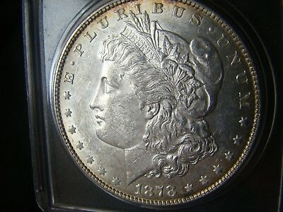 1878 7 over 8 tf AU condition /VAM 45 is 1 of the 3 rarest 7/8 TF morgans