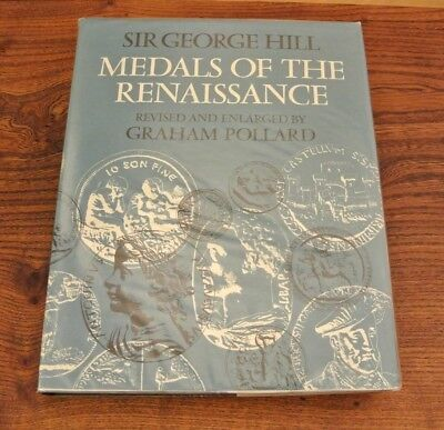 MEDALS OF THE RENAISSANCE by Sir George Hill 1978 (PM087)