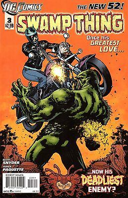 Swamp Thing Comic 3 DC 2012 New 52  Snyder Paquette   Come Hither, Child
