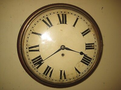 Antique Chain Driven Single Fusee Wall Clock.