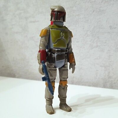 STAR WARS BOBA FETT Retro Action Figur 1979 Taiwan Waffe TOP Light Blue trilogo