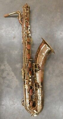 Vintage 1952 Conn 12M Naked Lady Bari Sax Baritone Saxophone ! !NORESERVE!