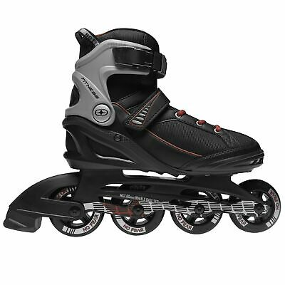 No Fear Mens Fitness Inline Skates Roller Blades Four Wheel Sports