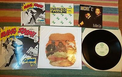 fat boys mantronix whistle hip hop  6 records eazy e dre street sounds electro