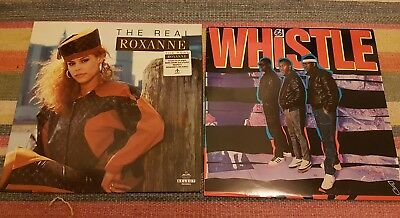 the real roxanne whistle hip hop rap 80s albums x2 streetsounds electro