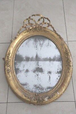 19th c. French mirror.
