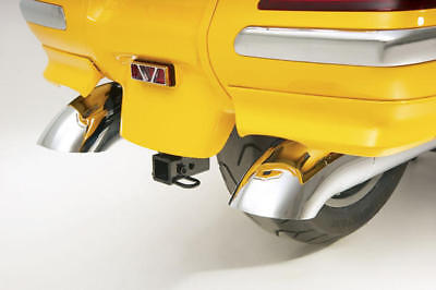 Show Chrome Turndown Exhaust Tips Fits Honda GL1800 Gold Wing 2001-2013