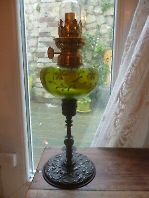 oil lamp (French green peg)