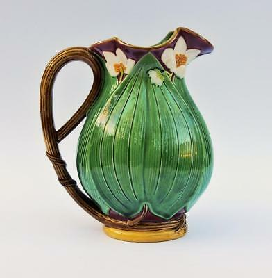 MINTON MAJOLICA 6 3/4 Inch JUG PITCHER Dated 1868