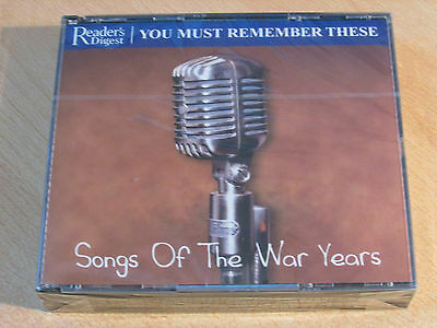 You Must Remember These - 59 Songs of the War Years (3 CD) Brand New & Sealed
