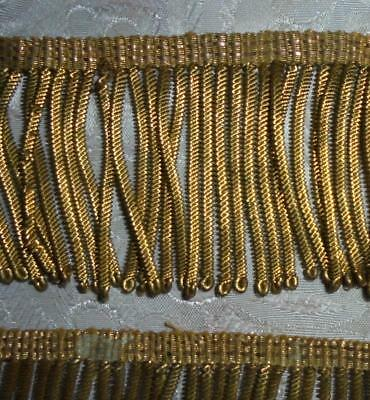 BATCH 5 FRAGMENTS 19th CENTURY VICTORIAN GOLD BULLION TRIM, PROJECTS