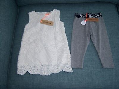 New Baby Girls Clothes.6/9 Months.river Island.uk Only