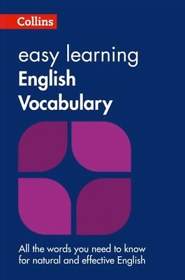 Easy Learning English Vocabulary (Collins Easy Learning English) ...