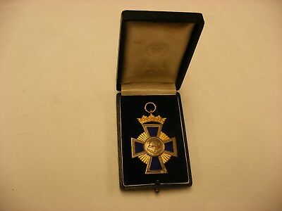 German Imperial Order WW1 Prussian Medals - Bavarian Fireman 50 Years Service