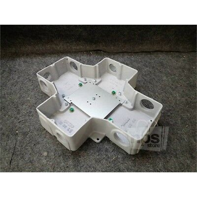 "Walker RFB4-CI-1 Recessed Floor Box, 4 Gang, 1"" to 1-1/4"" Knockouts"