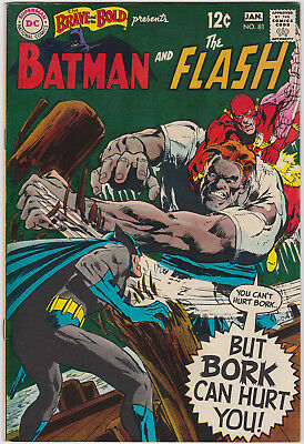 The Brave and the Bold      # 81        1969         VF+