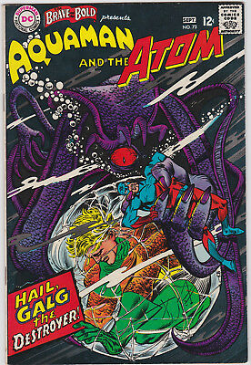 The Brave and the Bold      # 73        1967          VF+