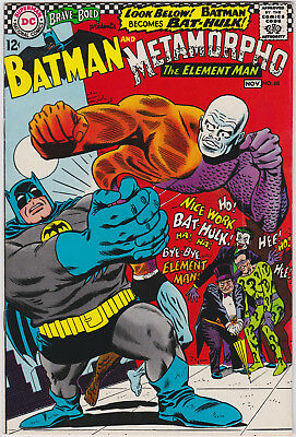 The Brave and the Bold      # 68        1966         VF+