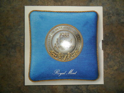1988 United Kingdom Brilliant Uncirculated Coin Collection Royal Mint